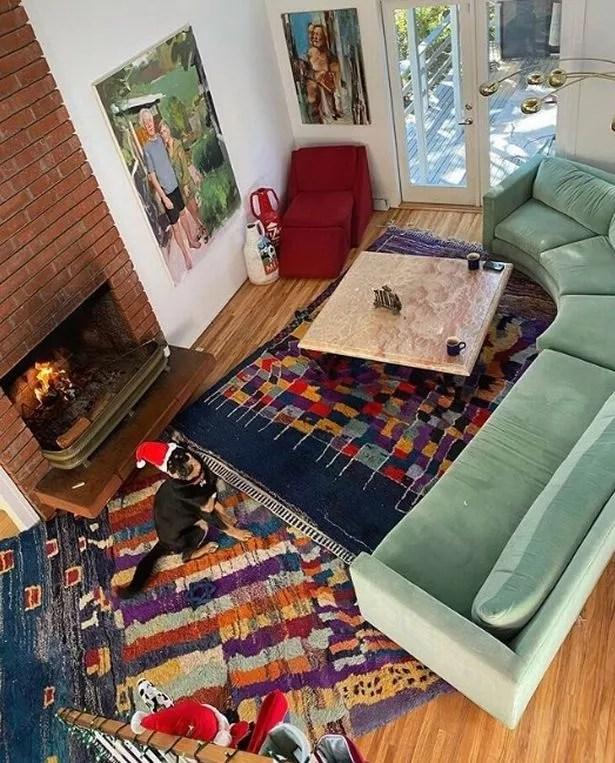 inside emily ratajkowski s quirky home