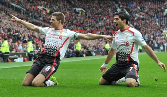 Suarez and Gerrard enjoyed a few memorable years together at Anfield