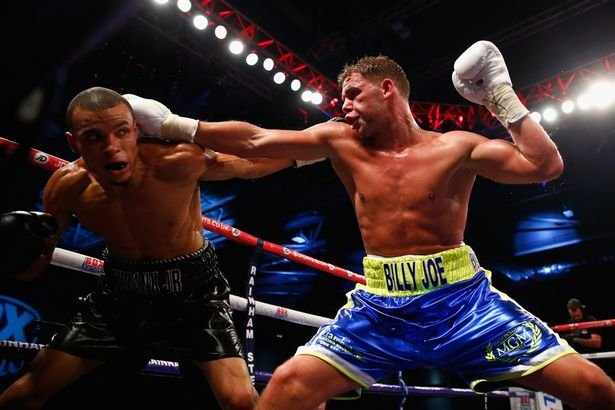 Saunders and Eubank Jr met in the ring in a tight competition in 2014