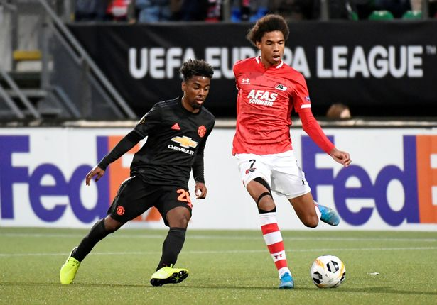 The midfielder has made six appearances for the United senior team so far this season
