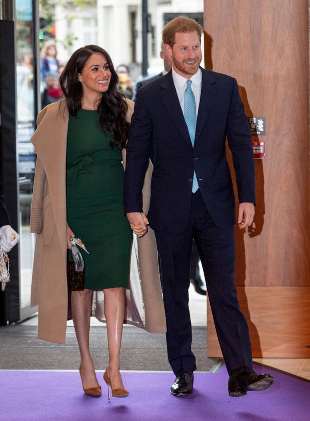 Harry and Meghan surprised a man on arriving at his door