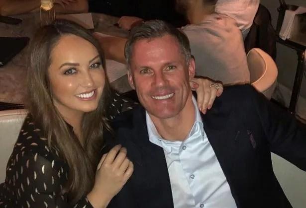 Carragher confirmed that his wife Nicola had a coronavirus