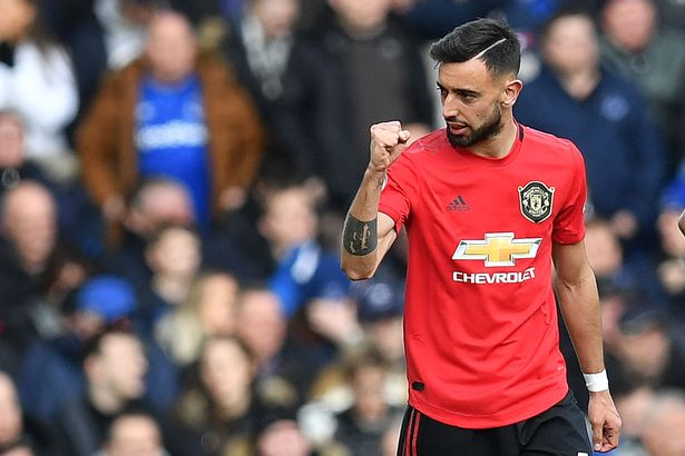 Fernandes has not yet played with Pogba but galvanized United in his absence