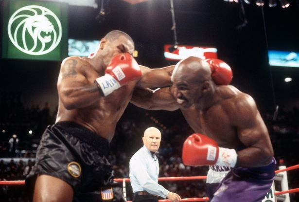 Mike Tyson and Evander Holyfield fought twice in their prime