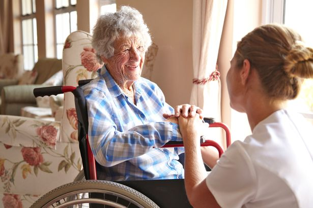 Plan says nursing home workers have moved into homes (stock photo)