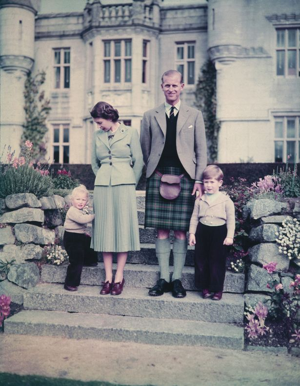 The Royal Family back in 1952