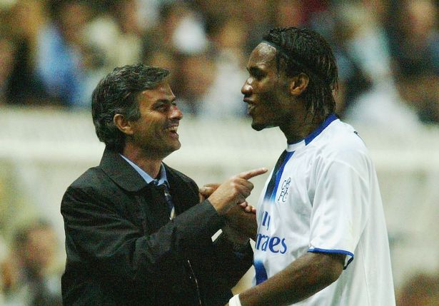 Didier Drogba and Jose Mourinho worked together for a number of years