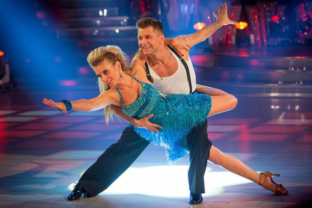 Rachel and her partner Pasha worked together on Strictly