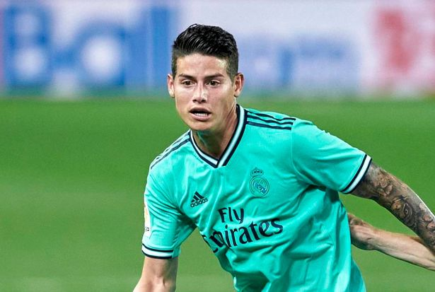 James Rodriguez is approaching a move to Goodison Park
