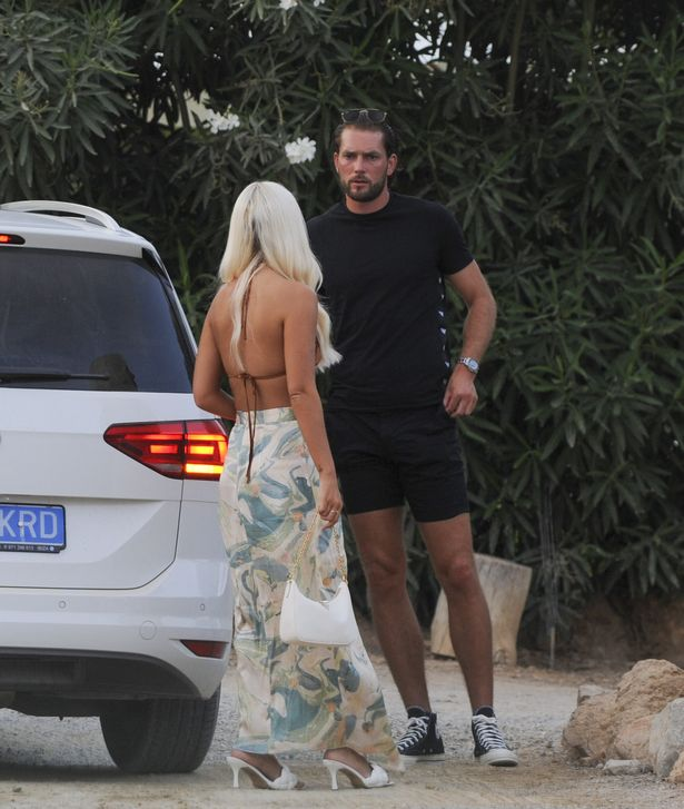 Lewis Burton Snogs Lottie Tomlinson And Grabs Her Bum As Pair Confirm Romance In Ibiza