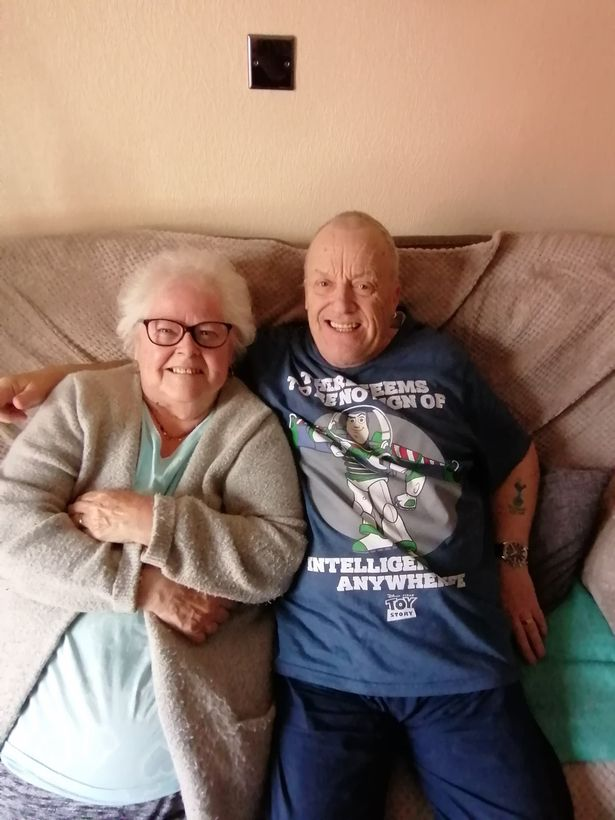 Clive and Brenda Blunden have been together for three decades