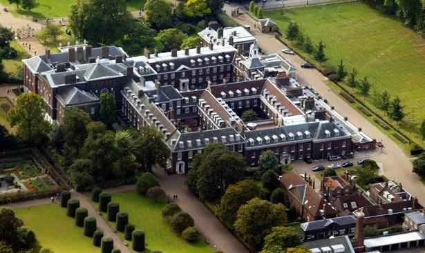 1 Aerial view of Kensington Palace London