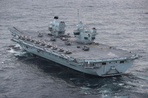 The HMS Queen Elizabeth aircraft carrier will visit the Indo-Pacific region later this year