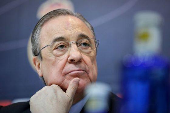 Presiden Real Madrid CF Florentino Perez