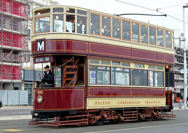 The trams along the seafront will remain empty