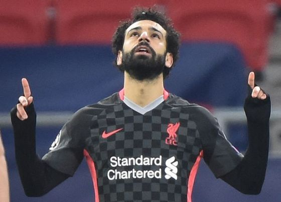 Mohamed Salah has once again led the way for struggling with Liverpool