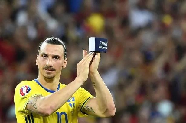 "The return of the God"" - Zlatan Ibrahimovic makes shock Sweden U-turn -  Mirror Online"