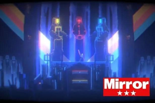 Gameplay screenshot from Narita Boy
