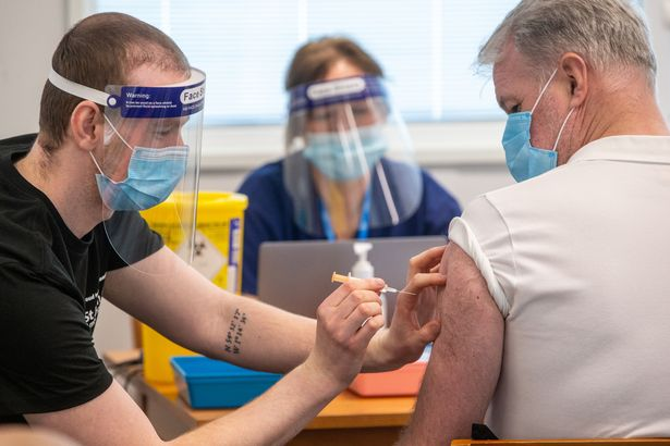 The Riverside Stadium in Middlesborough becomes the fifth mass vaccination centre to open in the North East and North Cumbria.