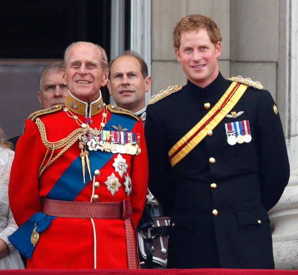 Prince Harry's grandfather Prince Philip died on Friday