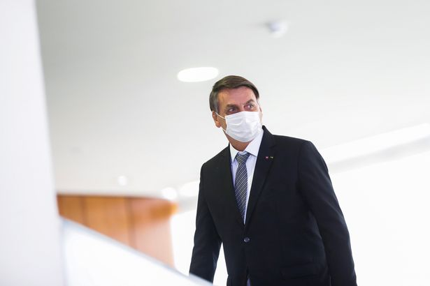 President Jair Bolsonaro has been roundly criticised for his handling of the pandemic