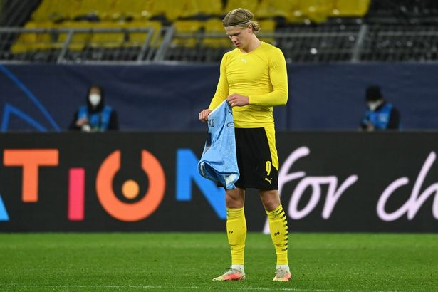Haaland could soon definitely swap a yellow shirt for a blue one