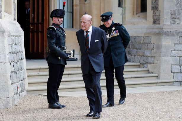 The duke's funeral will be held at 3pm on Saturday