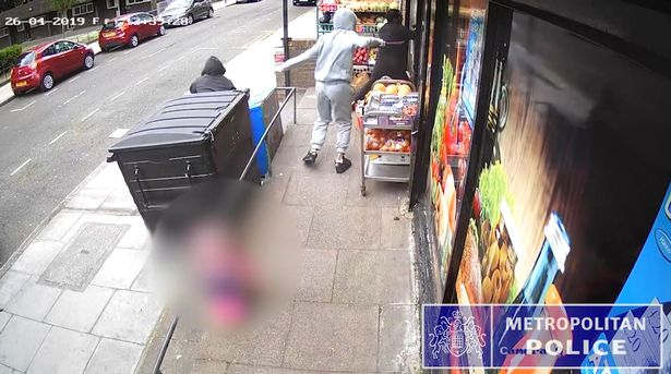 Joshua White is fatally stabbed as he flees into a store