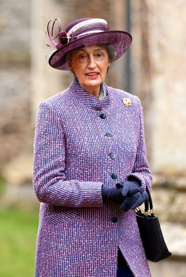 Lady Susan Hussey is one of the ladies-in-waiting who the Queen is expected to rely on for support