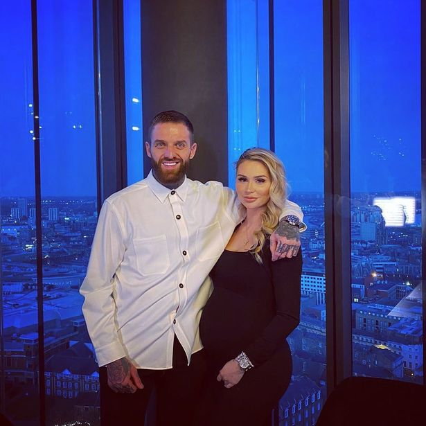 Aaron Chalmers and Talia Oatway