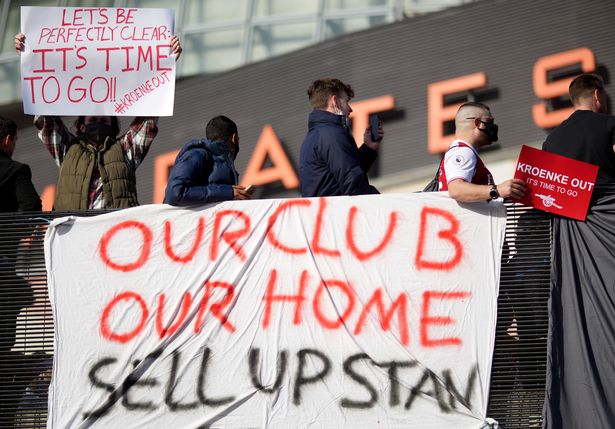 The message from Arsenal fans was clear