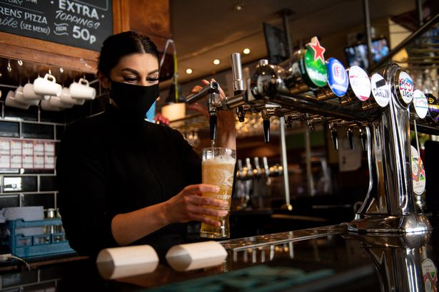Customers have complained of £7 pints of Peroni in London