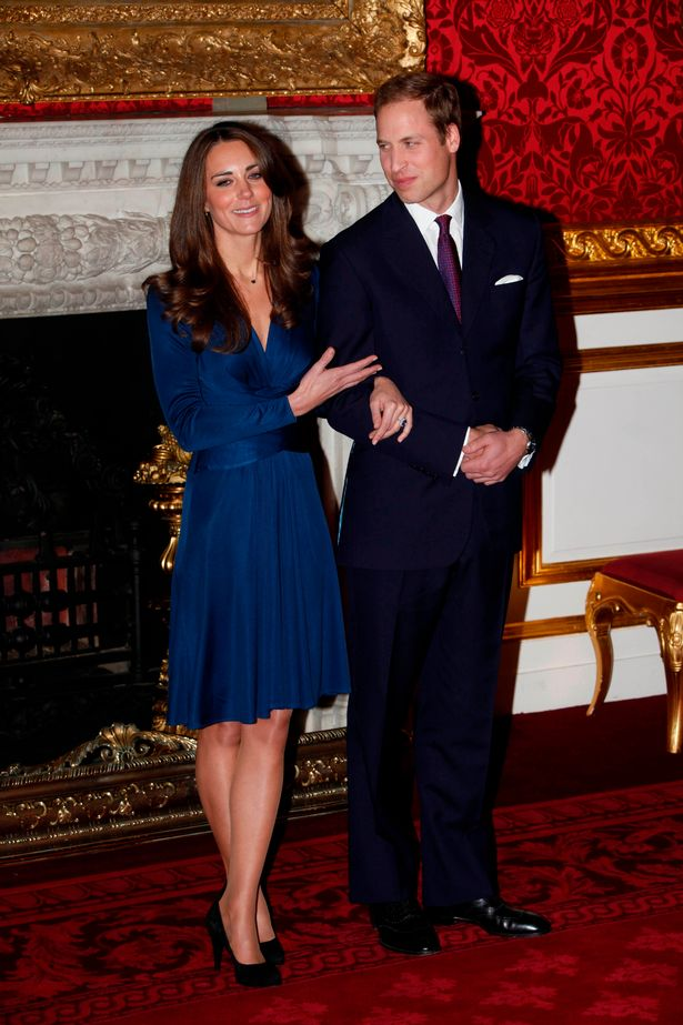 The Duke and Duchess of Cambridge are pictured together