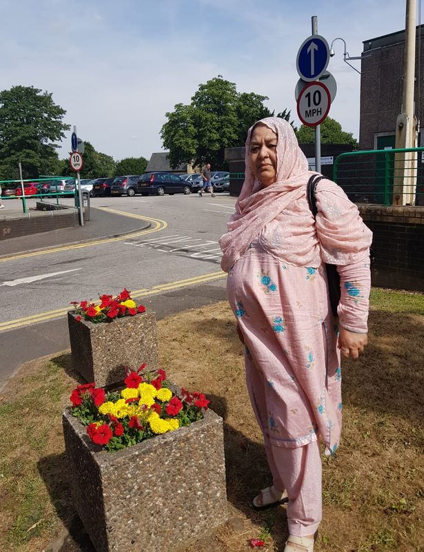 Nargis Begum who died on a smart motorway on the M1 in South Yorkshire in September 2018.