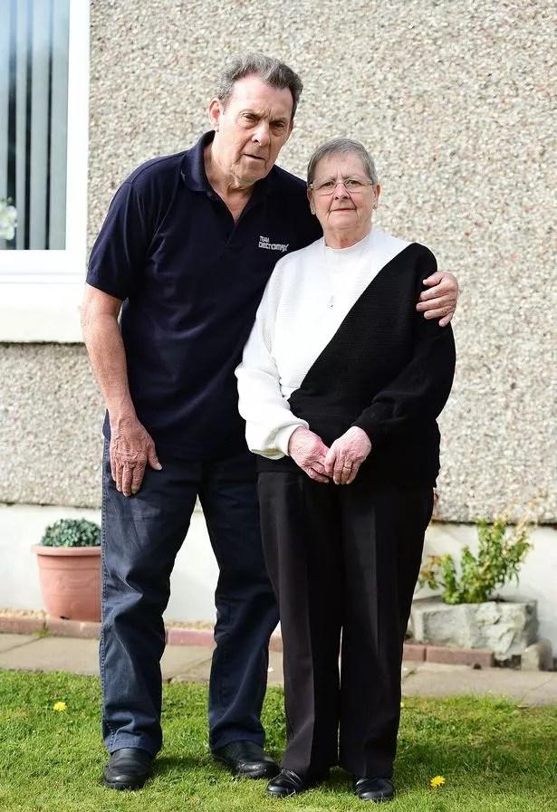 Isabella with her partner John McCartan