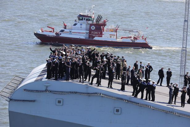 70,000-ton carrier HMS Queen Elizabeth
