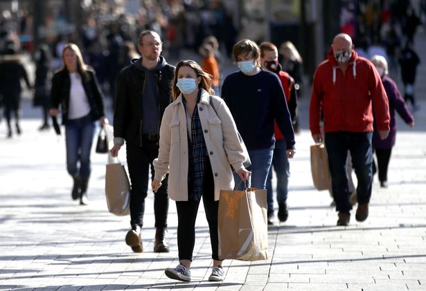 Experts warned today that more deprived areas will face a longer pandemic (file image)