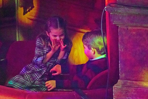 Princess Charlotte and Prince George attend a special pantomime performance hosted by The National Lottery
