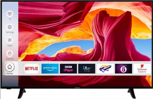 "Techwood 55AO9UHD 55"" Smart 4K Ultra HD TV"