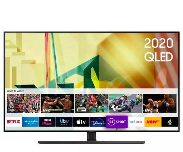 """Samsung QE55Q70TA 55"""" Smart 4K Ultra HD QLED TV"""
