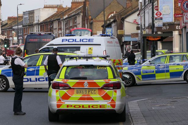 Police are investigating the incident in Willesden, in the north of the capital