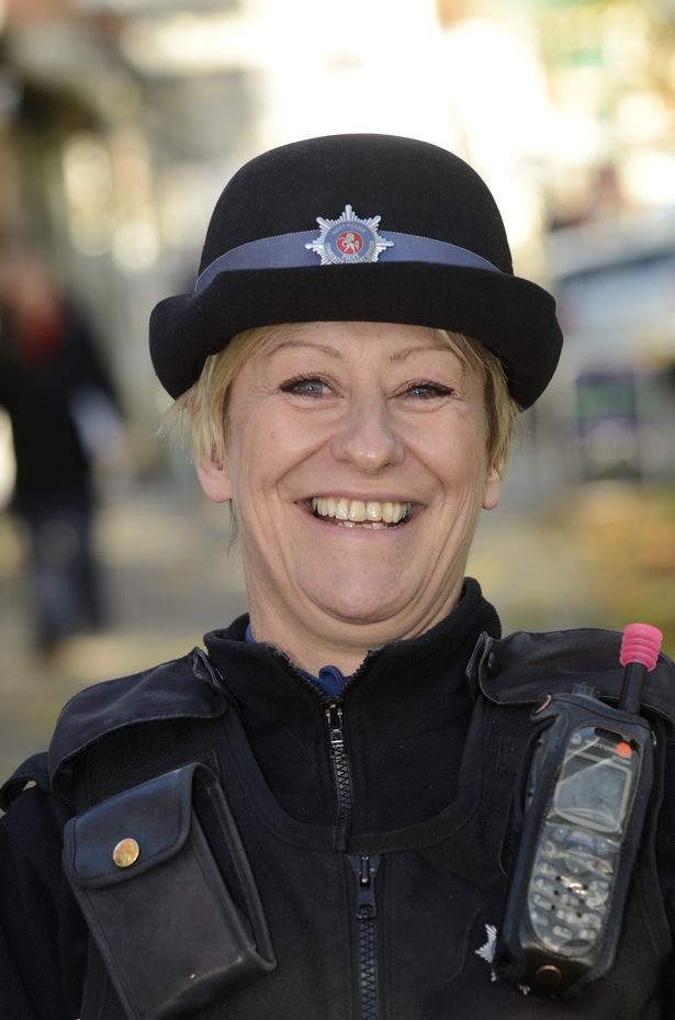 PCSO Julia James, pictured in 2013