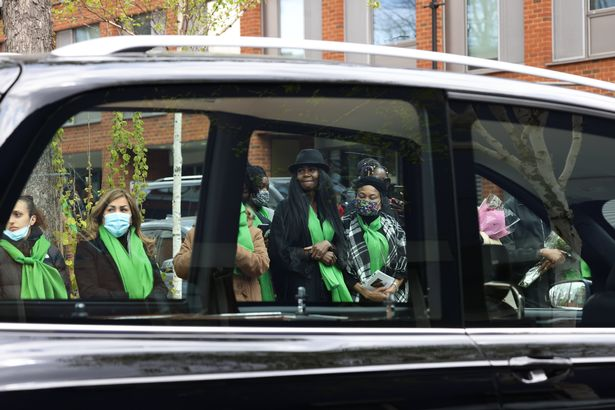 The Funeral of Richard Okorogheye at St Thomas Kensal Town Church, London