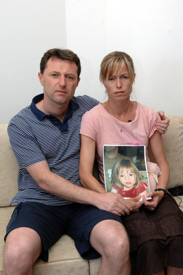 File photo dated 7/5/2007 of Kate and Gerry McCann make an appeal for their three year old Madeleine's return.