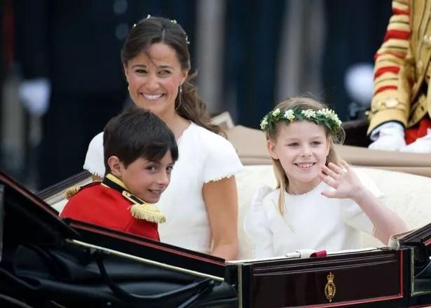 Margarita and Pippa Middleton