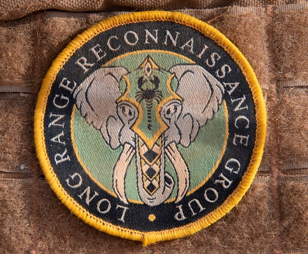 The British Soldiers mission badge