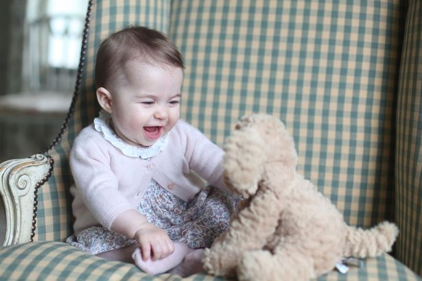 Princess Charlotte, taken by the Duchess of Cambridge at Anmer Hall