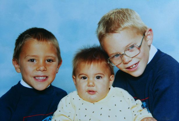 The three brothers as children