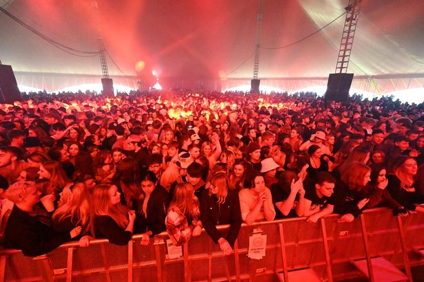 A crowd of 5,000 got to enjoy an outdoor gig in Sefton Park, Liverpool, yesterday, as part of the research
