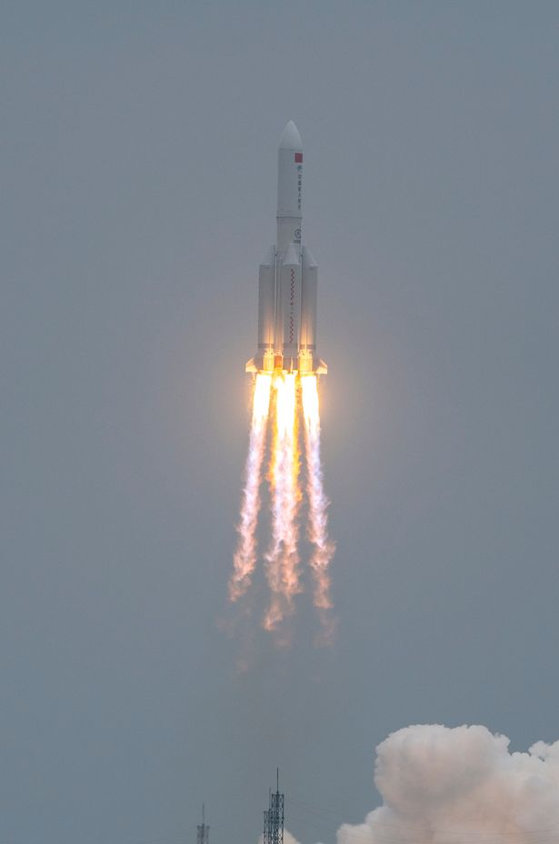 Long March-5B Y2 rocket